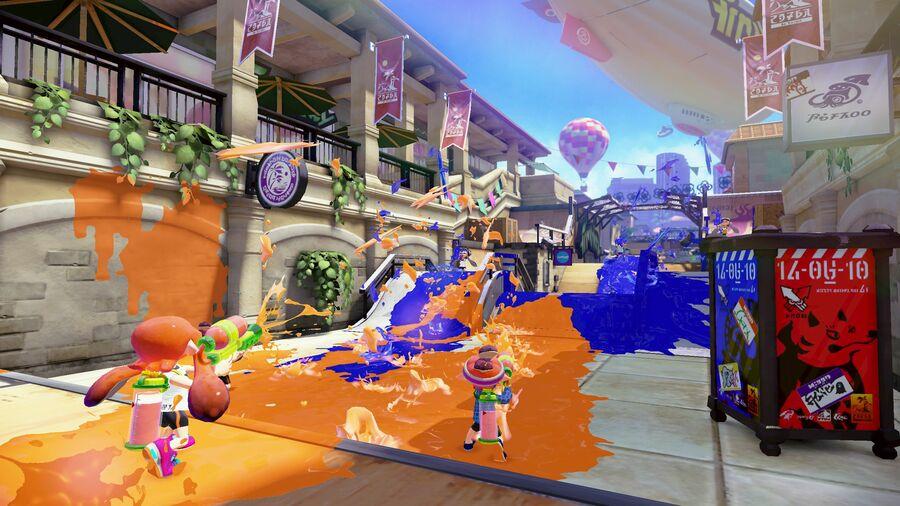 Wii U Splatoon E3