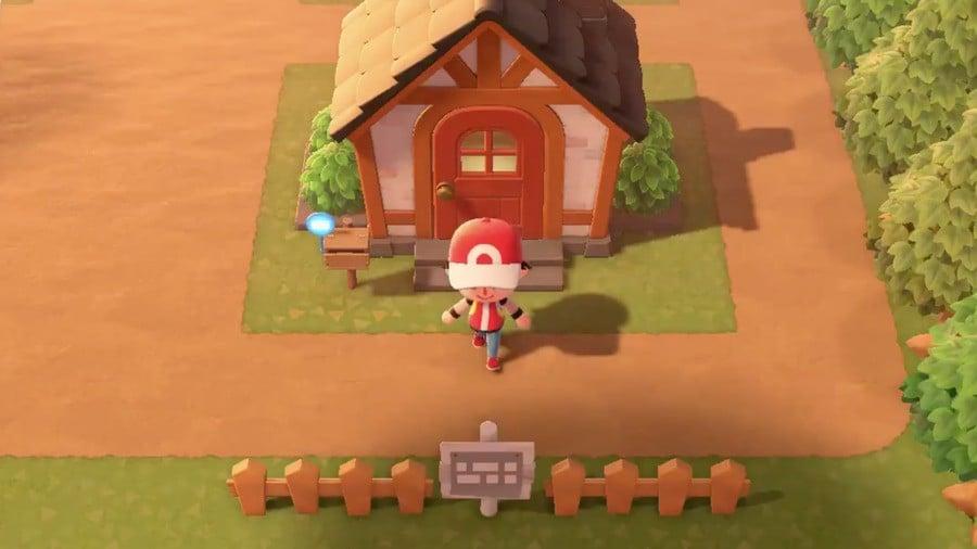 Pallet Town Pokemon Animal Crossing New Horizons