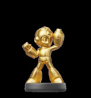 Mega Man - Gold Edition amiibo