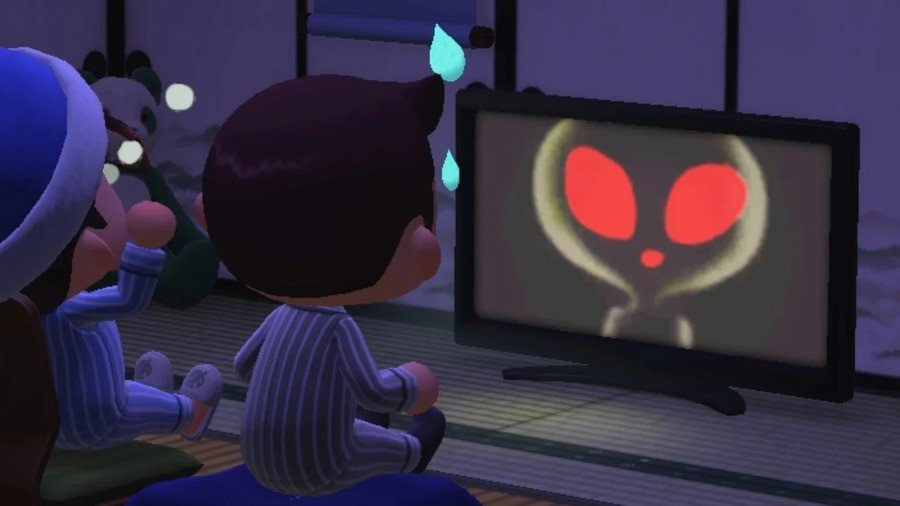 Alien Broadcast in Animal Crossing: New Horizons