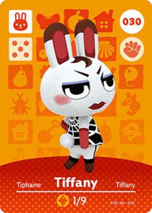 Tiffany amiibo card