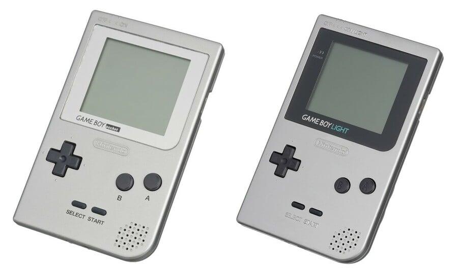 Game Boy Pocket and Light
