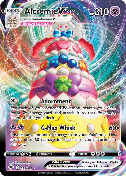 Pokemon TCG Champion S Path Alcremie VMAX (23)