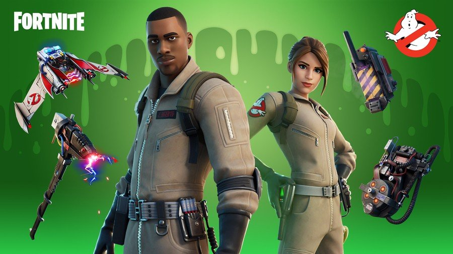 Ghostbusters Fortnite
