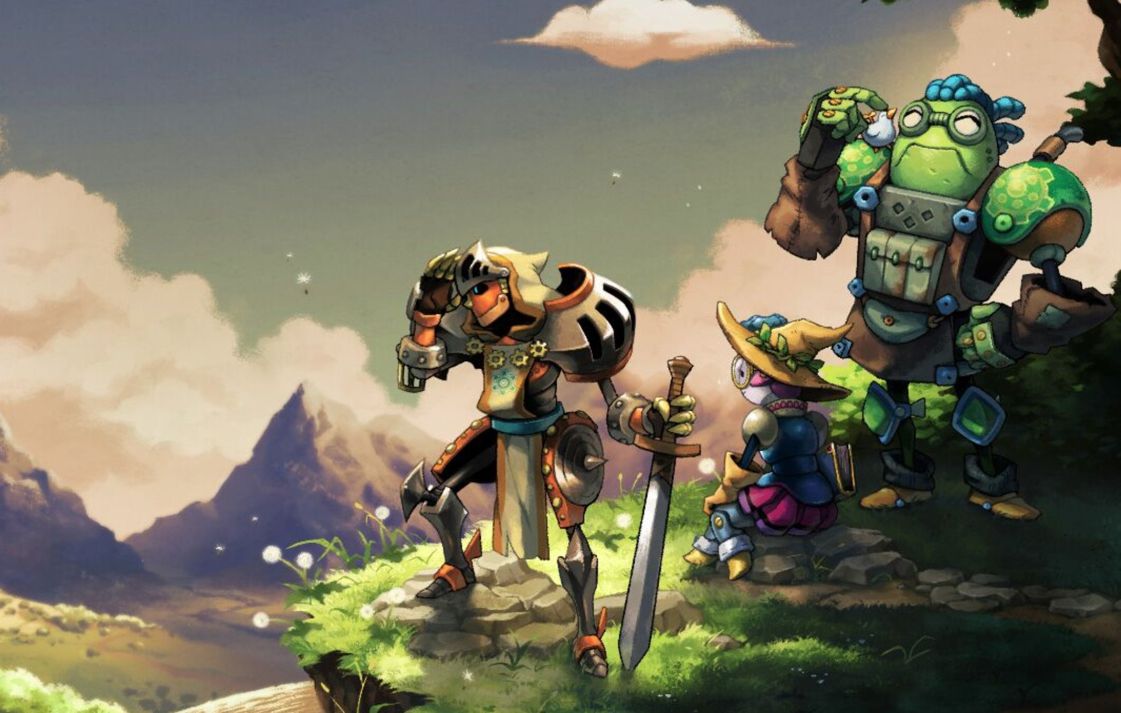 SteamWorld Quest Gets New Game+ Mode, Legend Remix Difficulty And