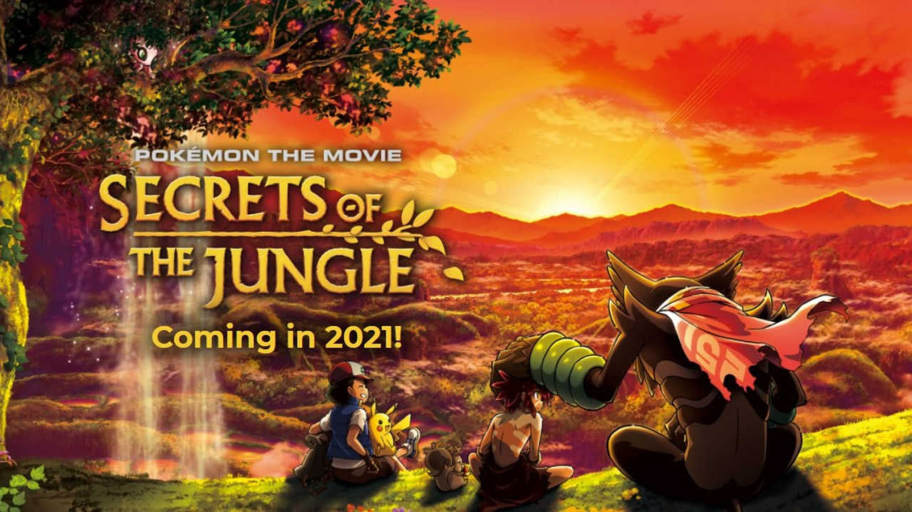 Pokémon The Movie: Secrets Of The Jungle Gets Its First English Trailer, Releases In 2021