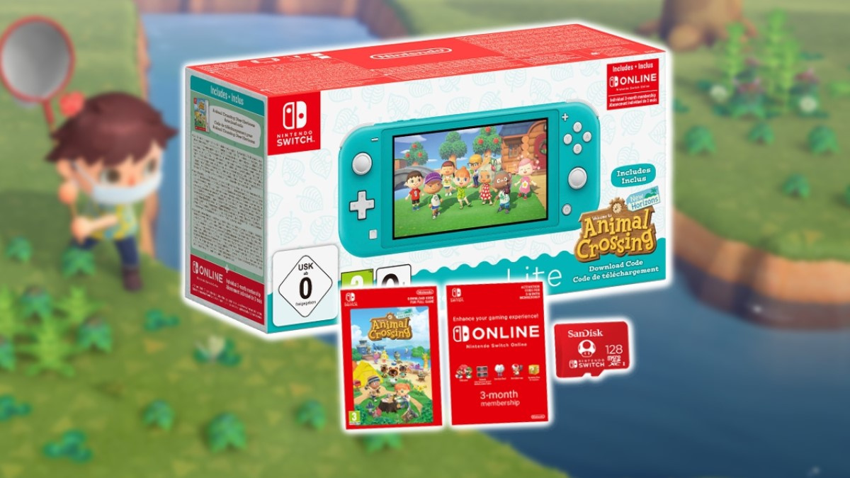 Deals: Grab A Free 128GB Memory Card With Any Switch Lite Bundle From Nintendo's UK Store
