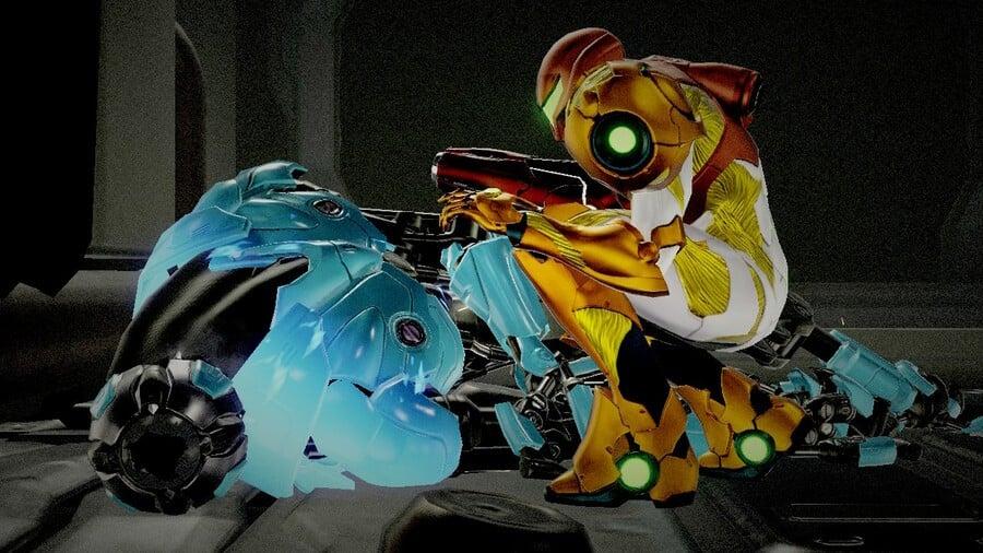 Metroid Dread Ice Missile