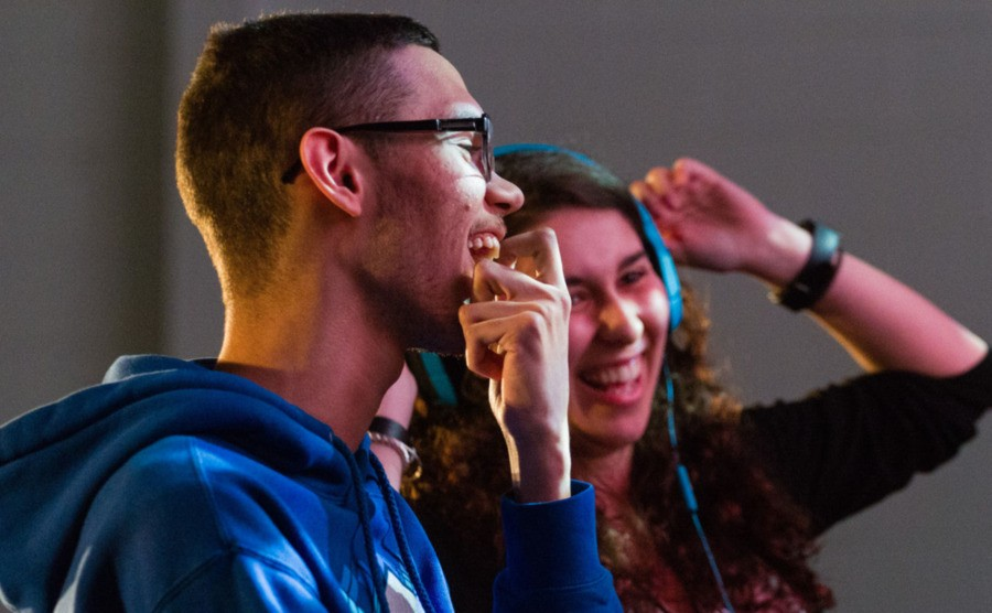 """Nairoby """"Nairo"""" Quezada - pictured here with SuperGirlKels - is pleased with how Nintendo is positioning Smash Ultimate"""