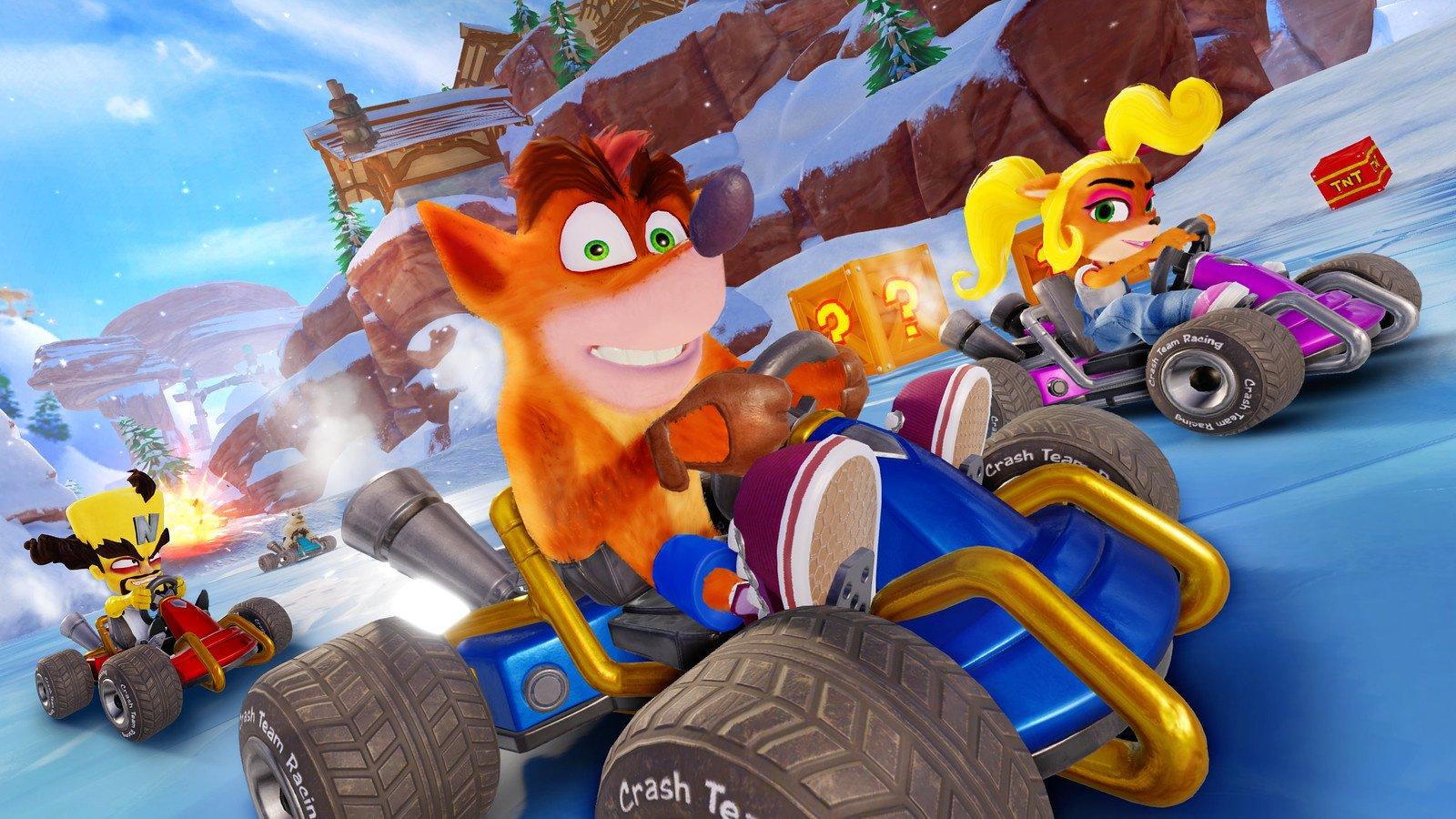 Crash Team Racing Nitro-Fueled File Size Revealed - Nintendo Life