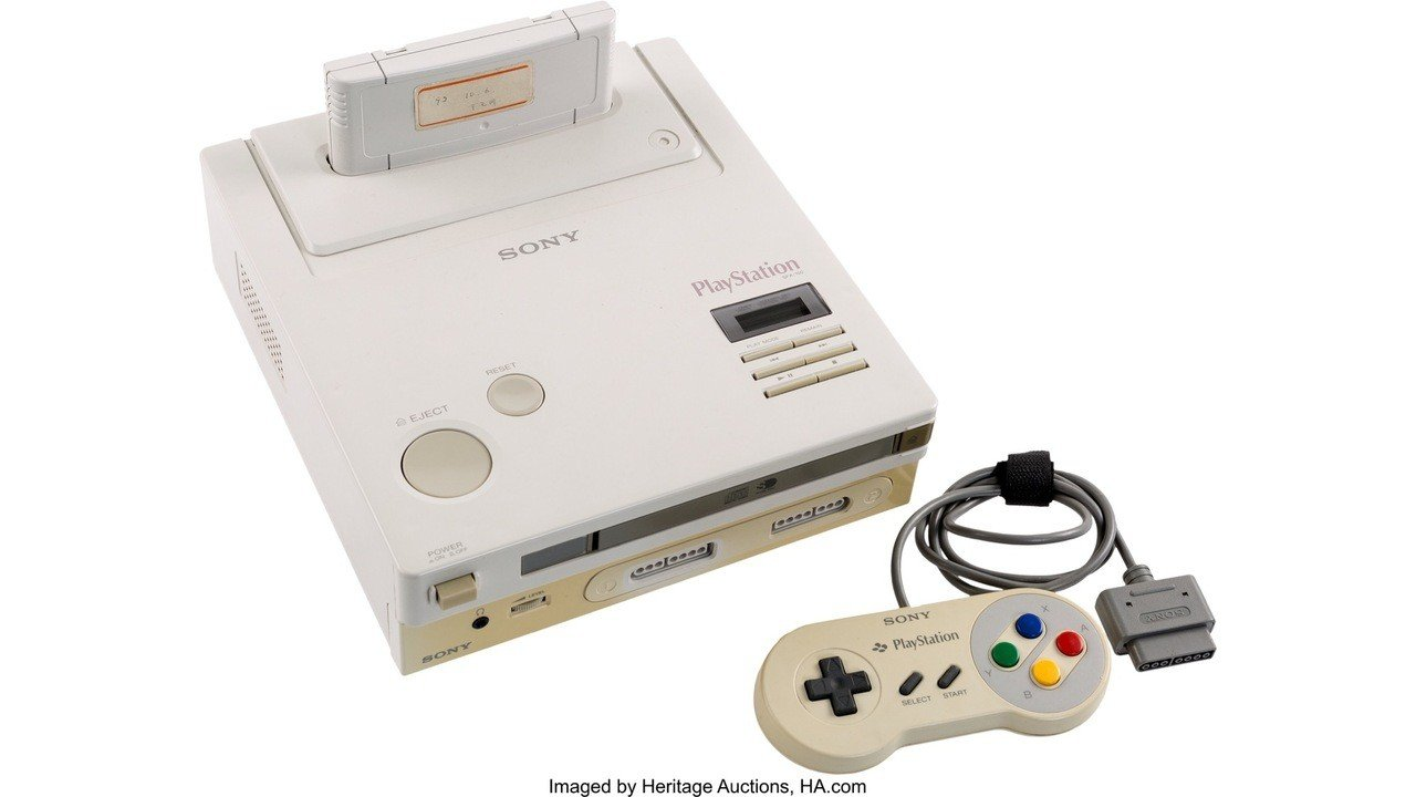 The Nintendo PlayStation Is Now Up For Auction, Current Bid Stands At $31,000