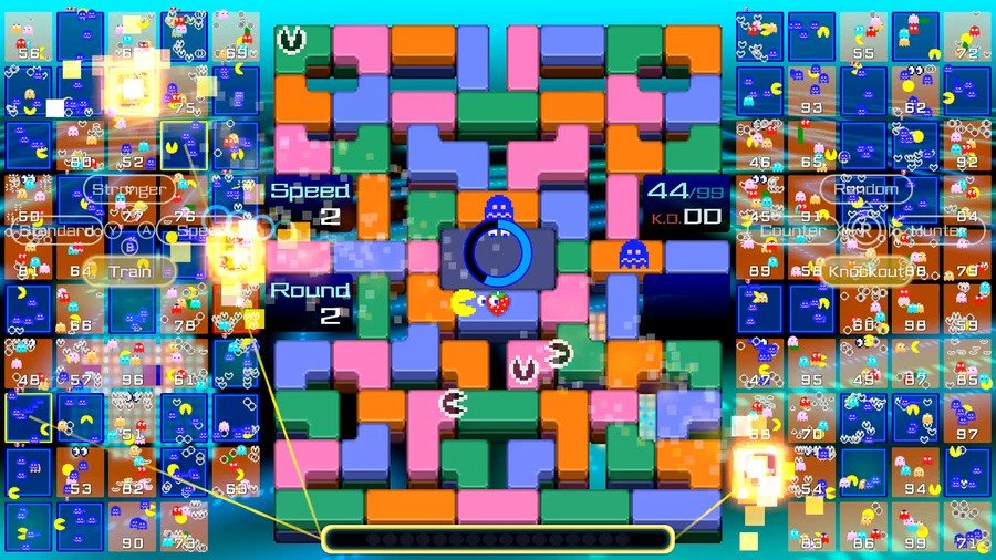 Pac-Man 99 Screen