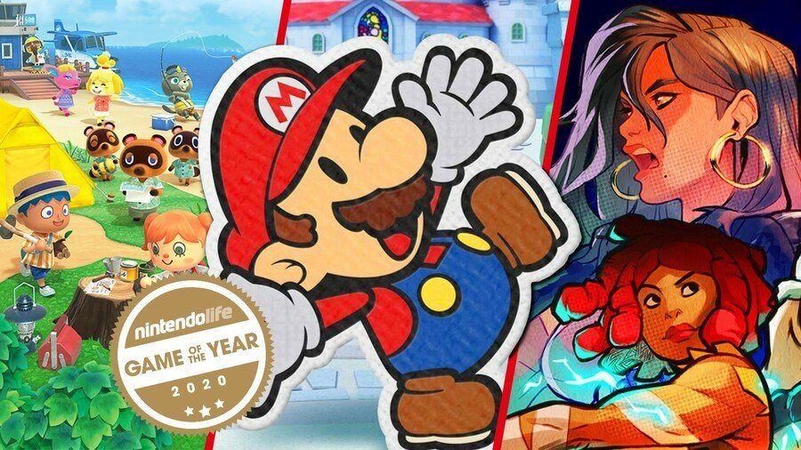 Nintendo Life Staff Game Of The Year 2020