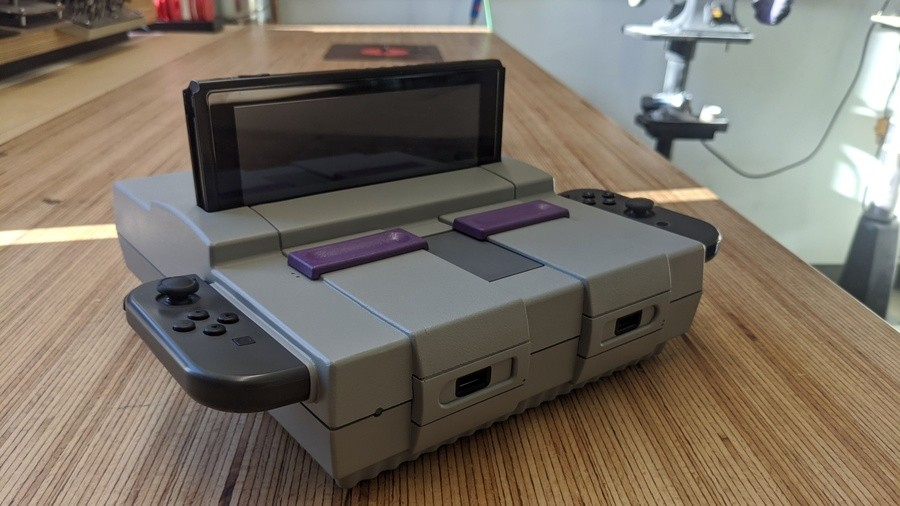 Snes Switch Dock
