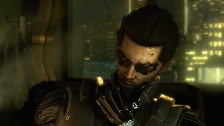 Deus Ex Human Revolution Adam Jensen Thinks