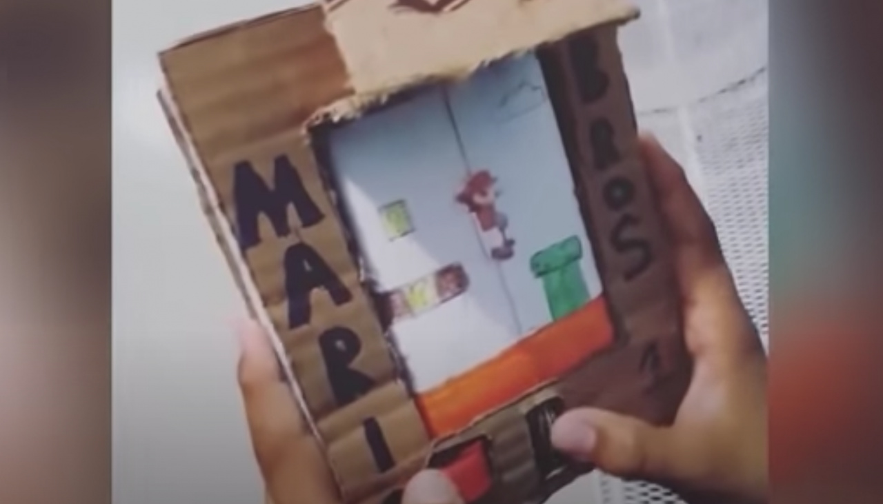 Random: No, Nintendo Did Not Sue A 9-Year-Old Child For Creating A Cardboard Game Boy