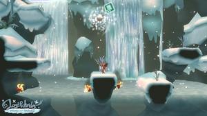 Hurling snowballs in Winter