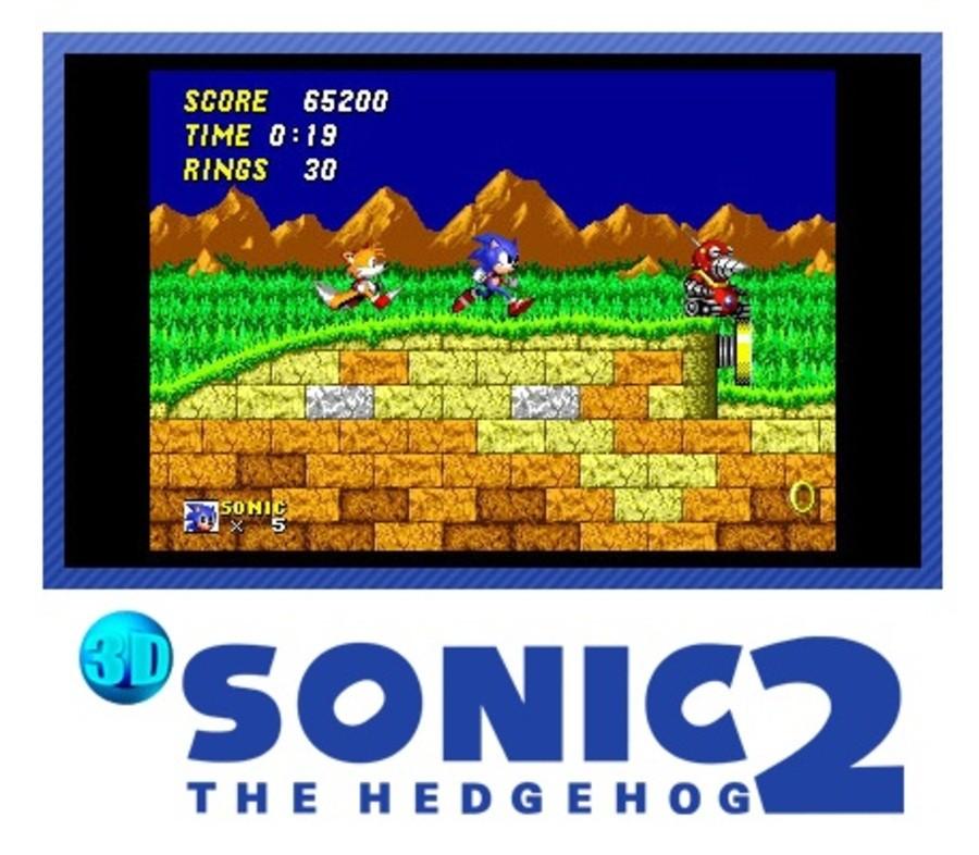 3 D Sonic the Hedgehog 2