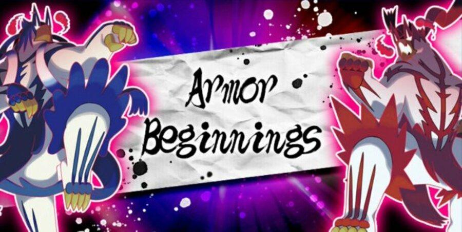 Armor Beginnings Pokemon Sword Shield