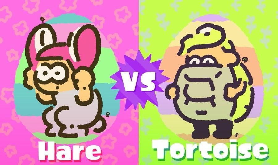 Splatoon 2 Hare V Tort