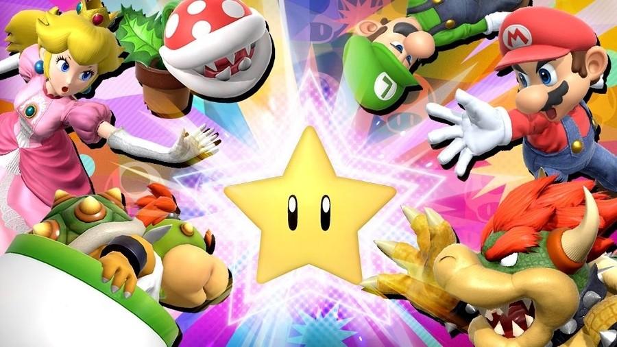 Super Smash Bros Spirit Board Mario Themed