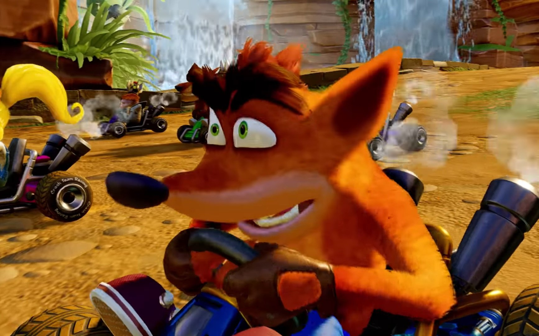 Video: View The Nitro-Fueled Gameplay In This Crash Team Racing Clip