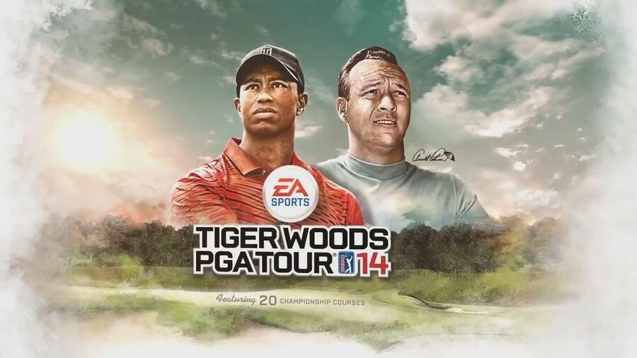 Tiger Woods PGA Tour 14 Arnold Palmer Trailer 2
