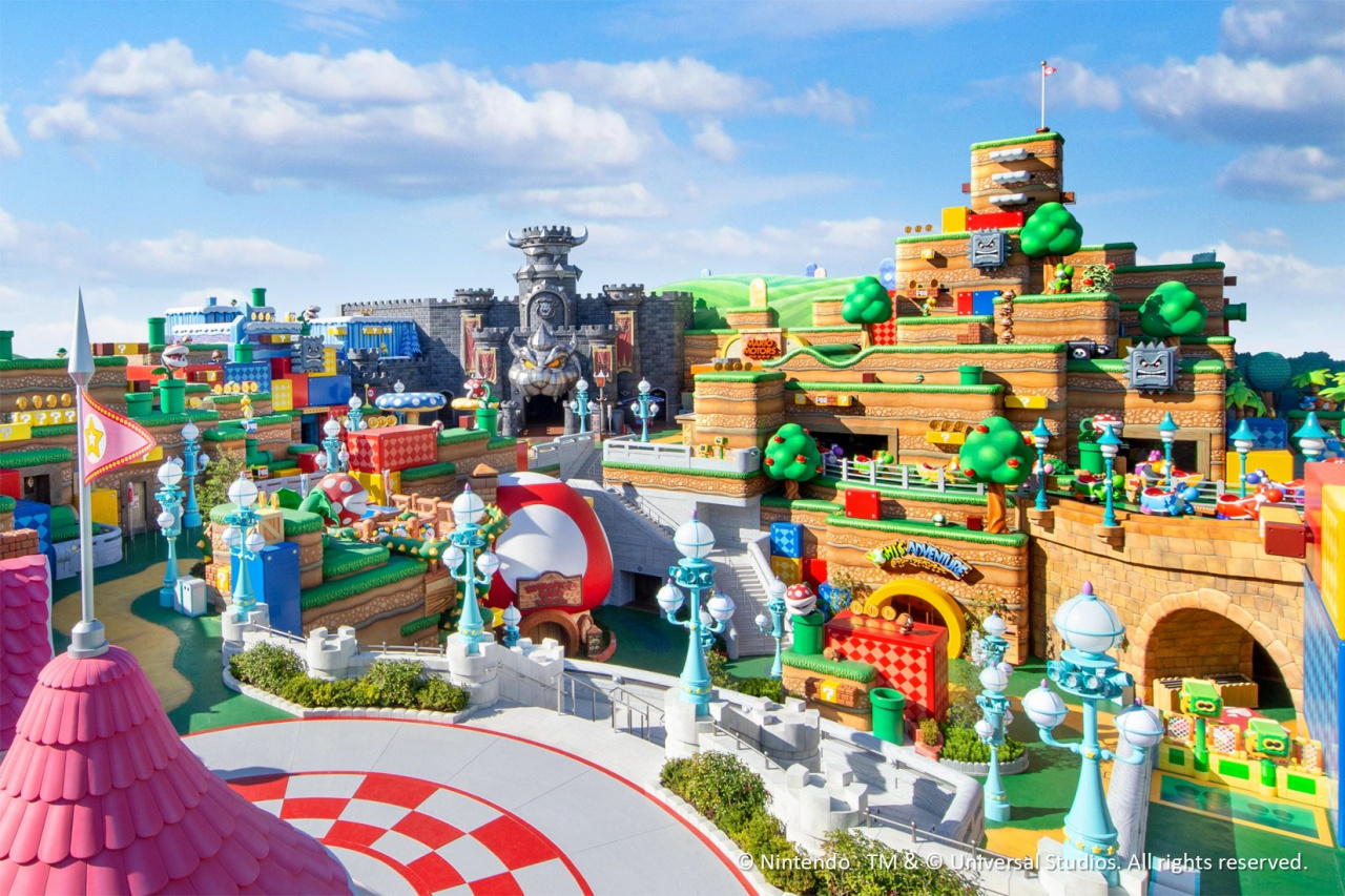 Super Nintendo World Will Open February 2021, New Images And Mario Kart Ride Detailed