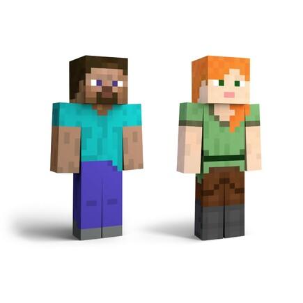 77. Steve / Alex / Zombie / Enderman (DLC)