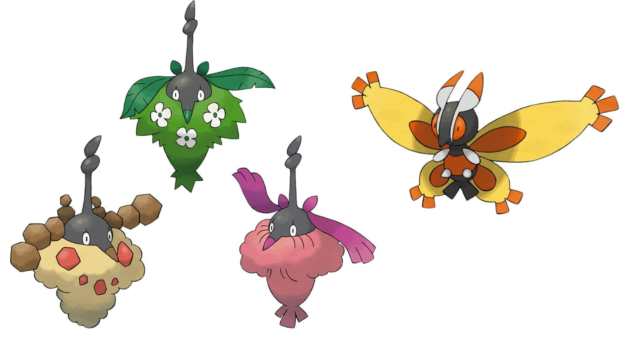 Burmy In Pokémon GO - Where To Find Plant, Sandy And Trash