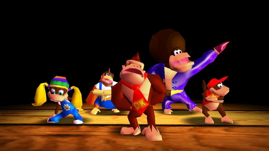 Donkey Kong 64 Rap Intro 1280 X720