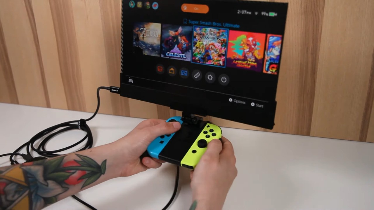 Video: Introducing The C-Force C-Air, An External 4K Monitor For Your Nintendo Switch
