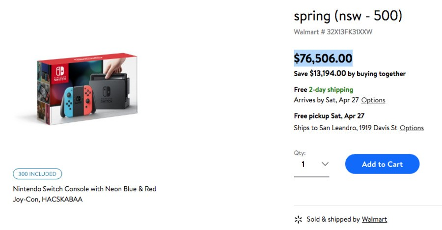 We've grabbed a screenshot for you, just in case the product listing gets taken down