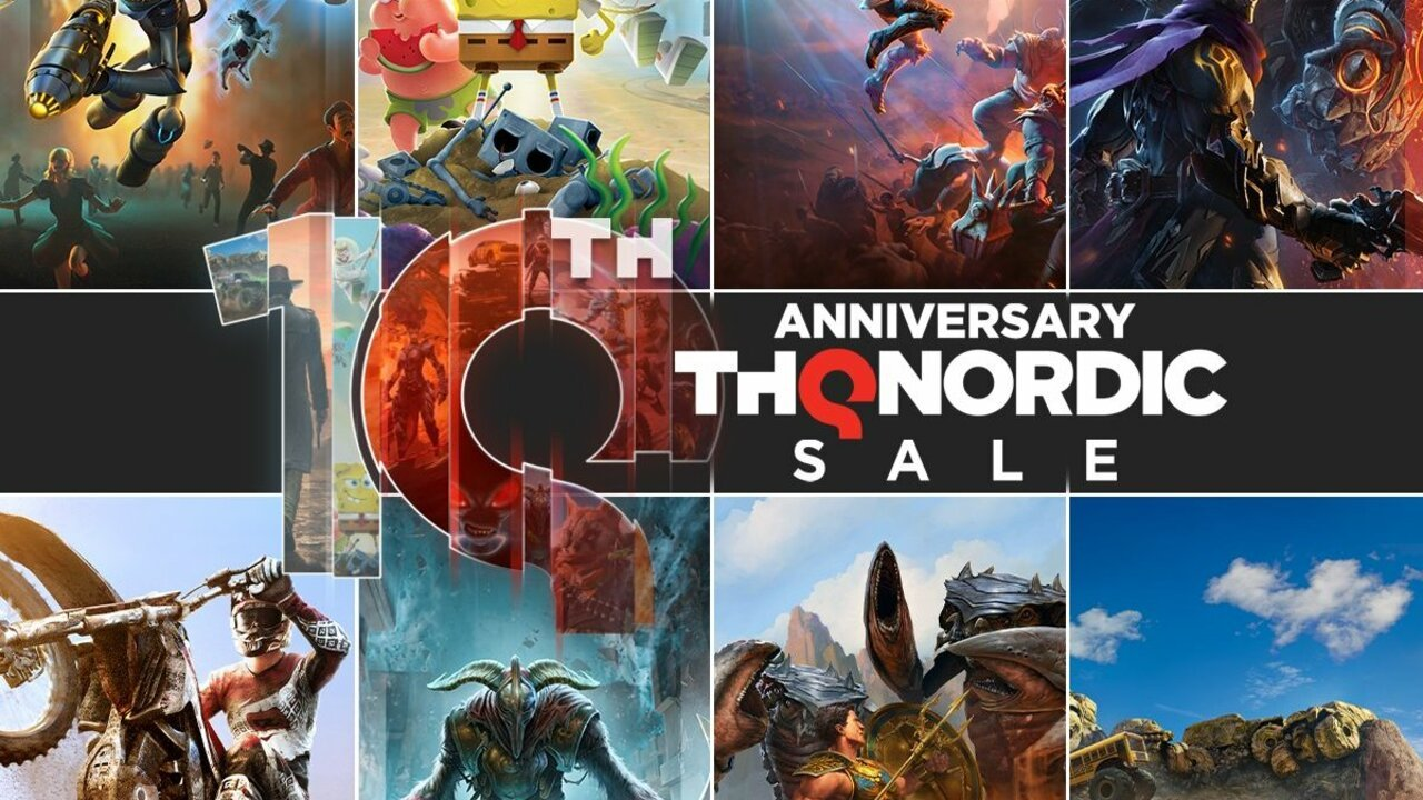 THQ Nordic Celebrates Its Anniversary With A Bunch Of Switch eShop Discounts
