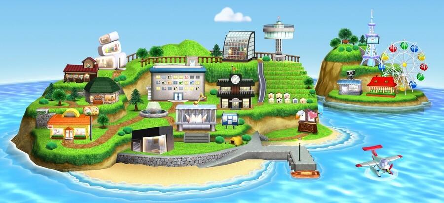 N3 DS Tomodachi Life Illustration