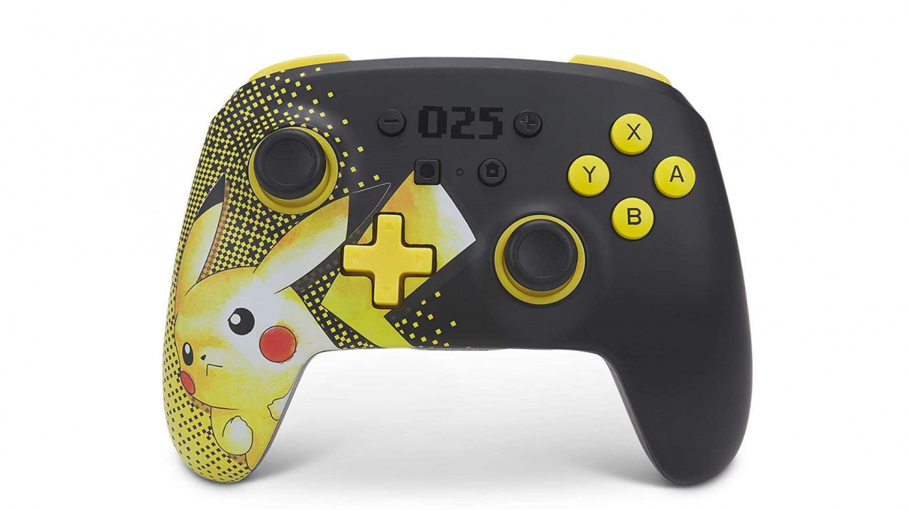 Celebrate 25 Years Of Pokémon With This Pikachu-Themed PowerA Controller
