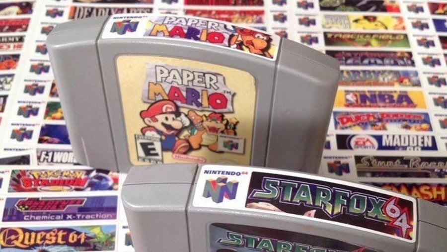 N64 End Labels
