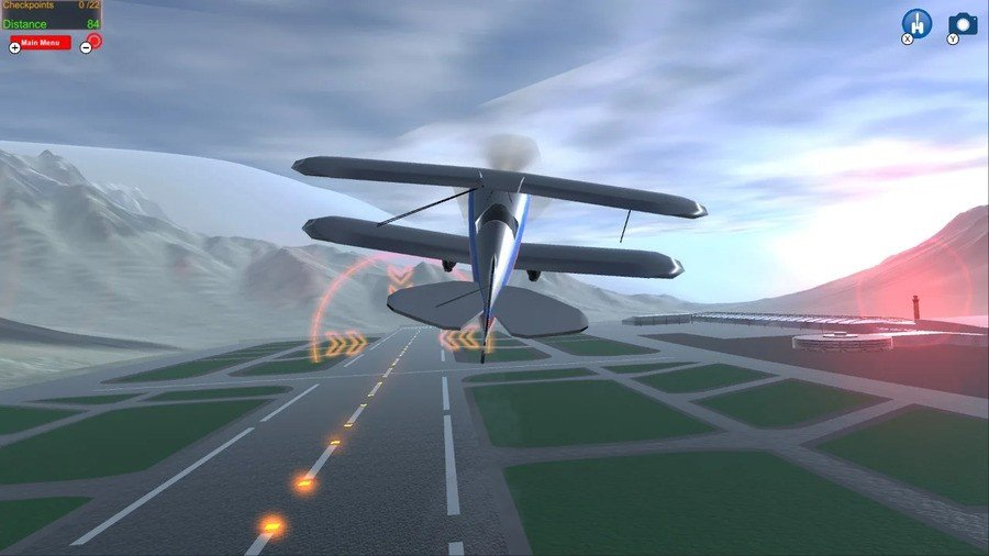 Εύκολος προσομοιωτής πτήσης