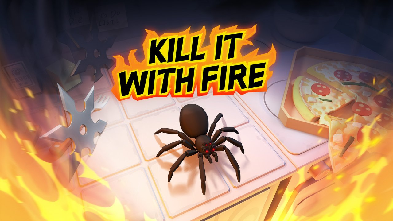 Mini Review: Kill It With Fire - Arachnophobes Need Not Apply