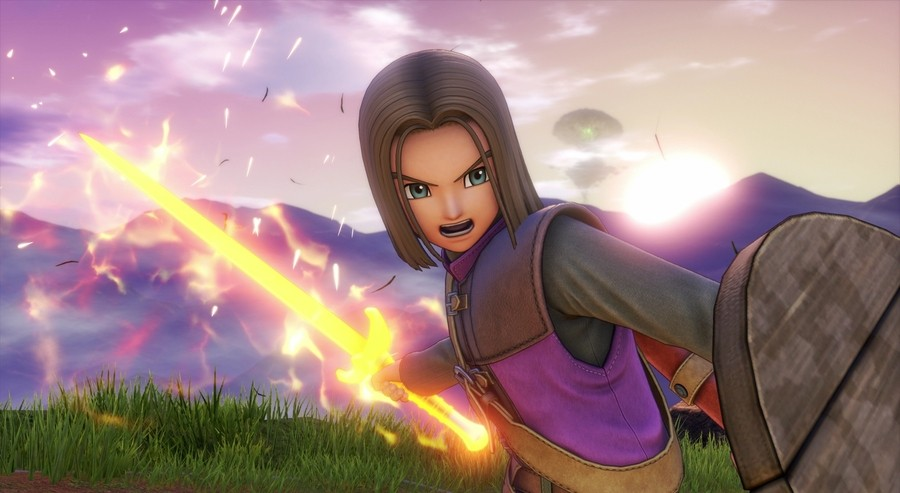 The most recent release - Dragon Quest XI S