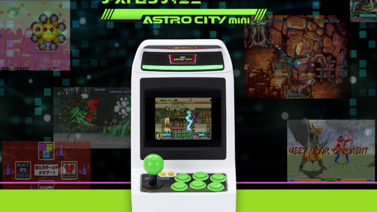 Sega's New Astro City Micro-Console Is Packed With 36 Arcade Gems - Nintendo Life