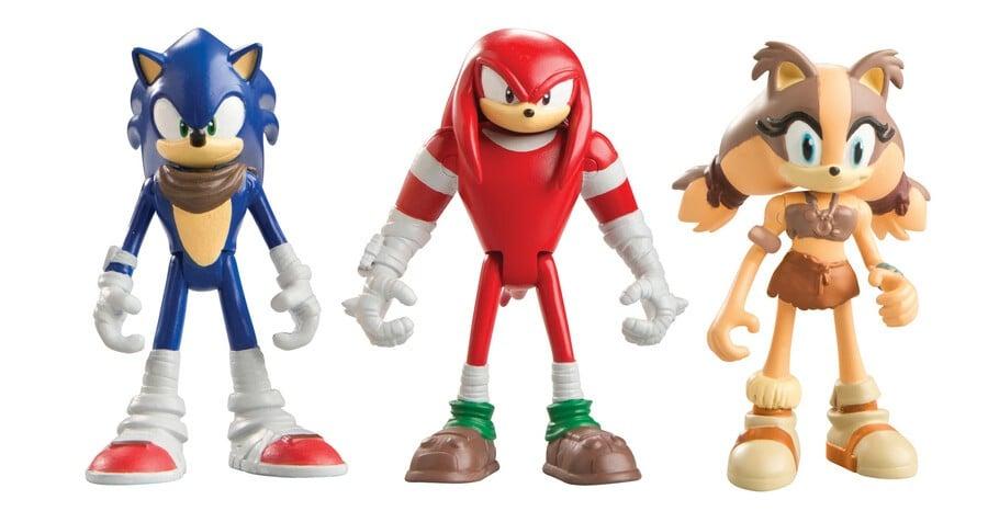 Sonic Knuckles Sticks TOMY