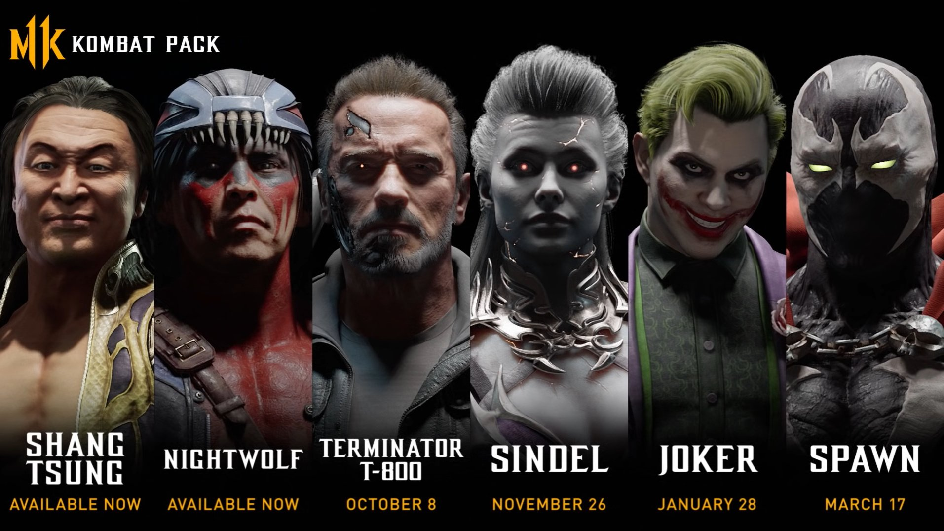 Joker joins Mortal Kombat 11 with Spawn, the Terminator, and more