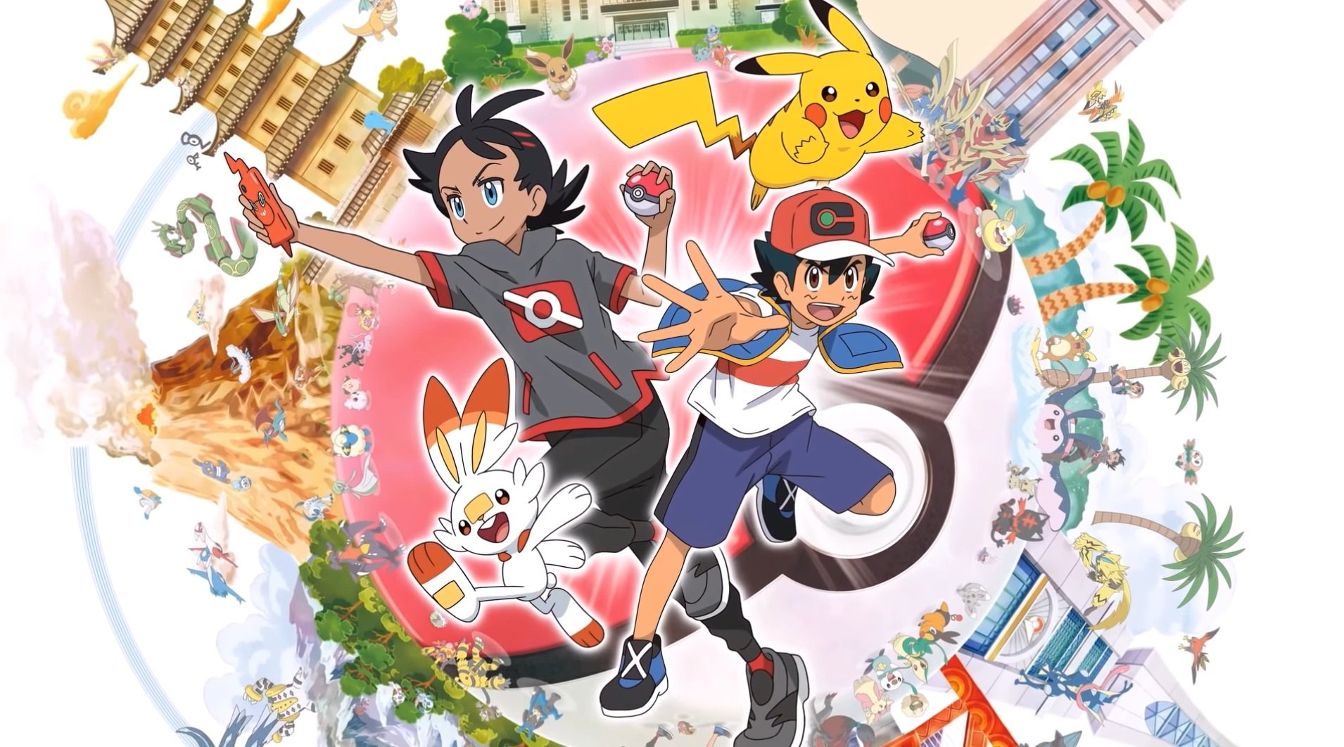 Video: Check Out Ash And Pikachu In The New Pokémon Anime Series