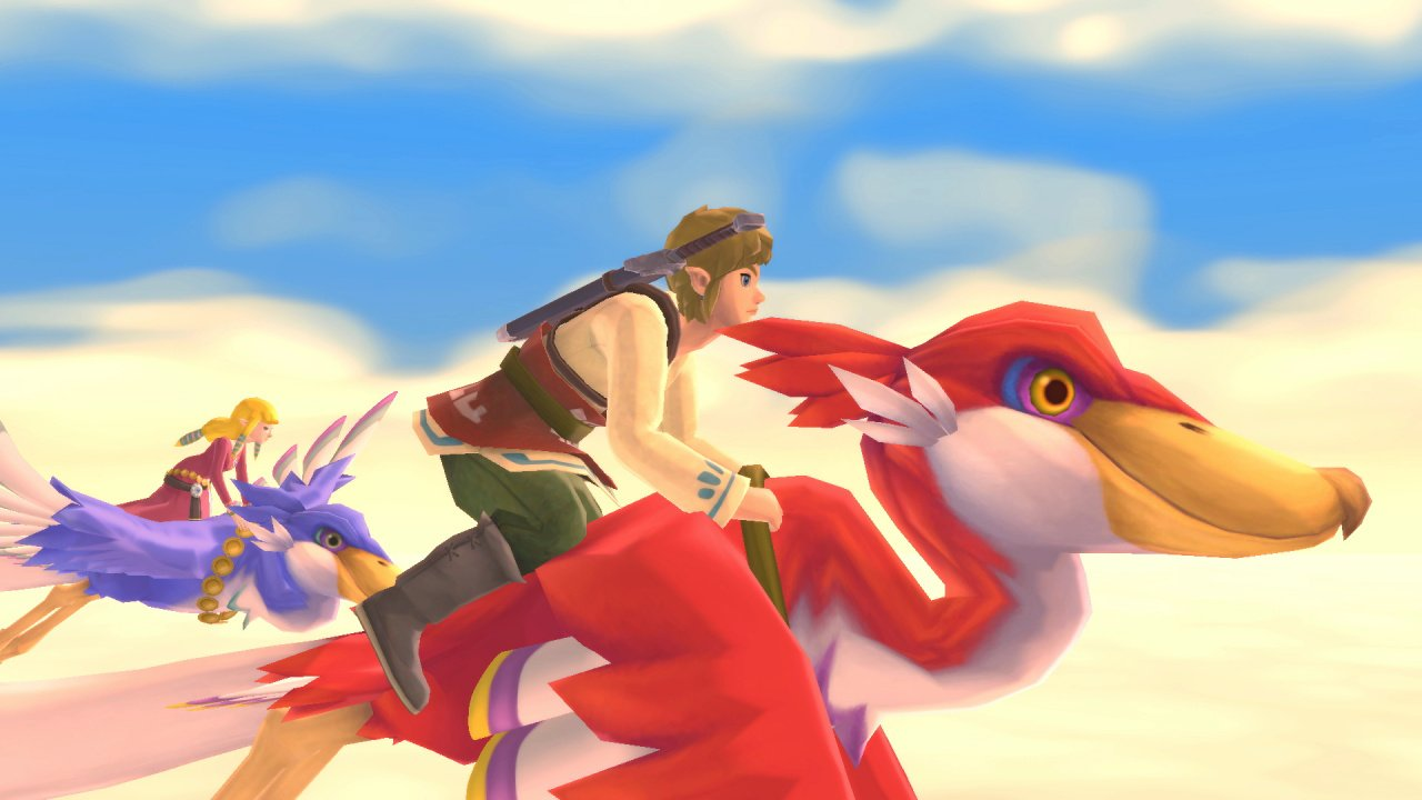 The Legend Of Zelda: Skyward Sword HD Will Feature amiibo Support, File Size Revealed