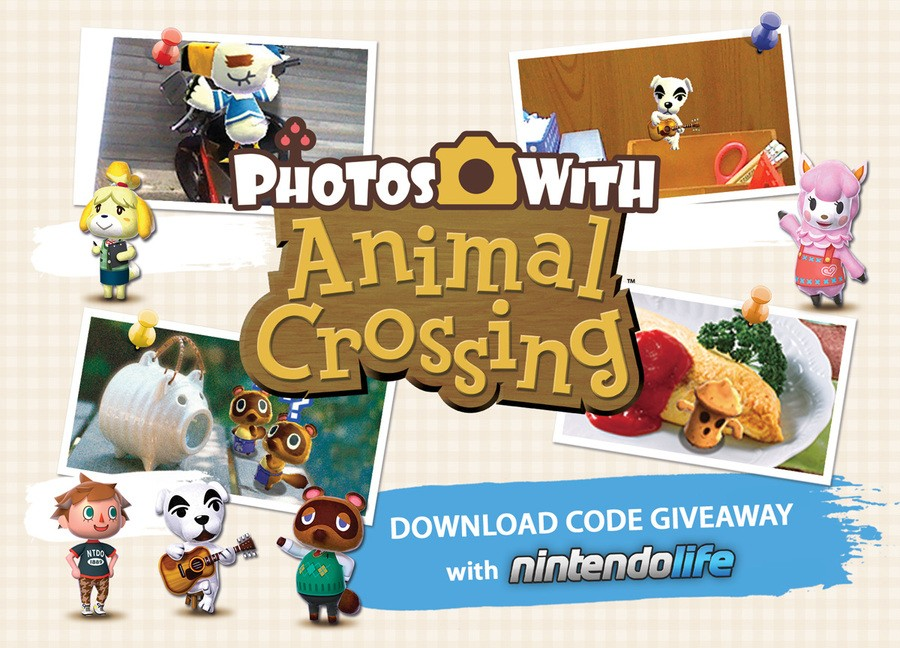 Photos with Animal Crossing - Download Code Giveaway