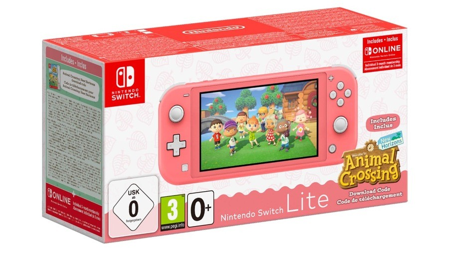 Animal Crossing Switch Lite