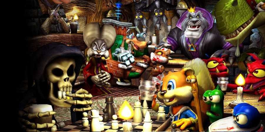 Former Rare Developer Shares New Details About Conker's