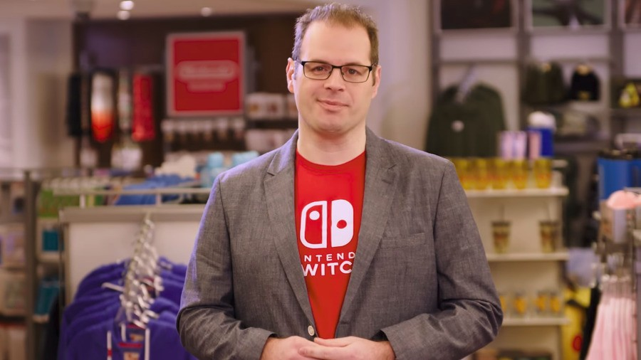 Nintendo's third-party head honcho Damon Baker