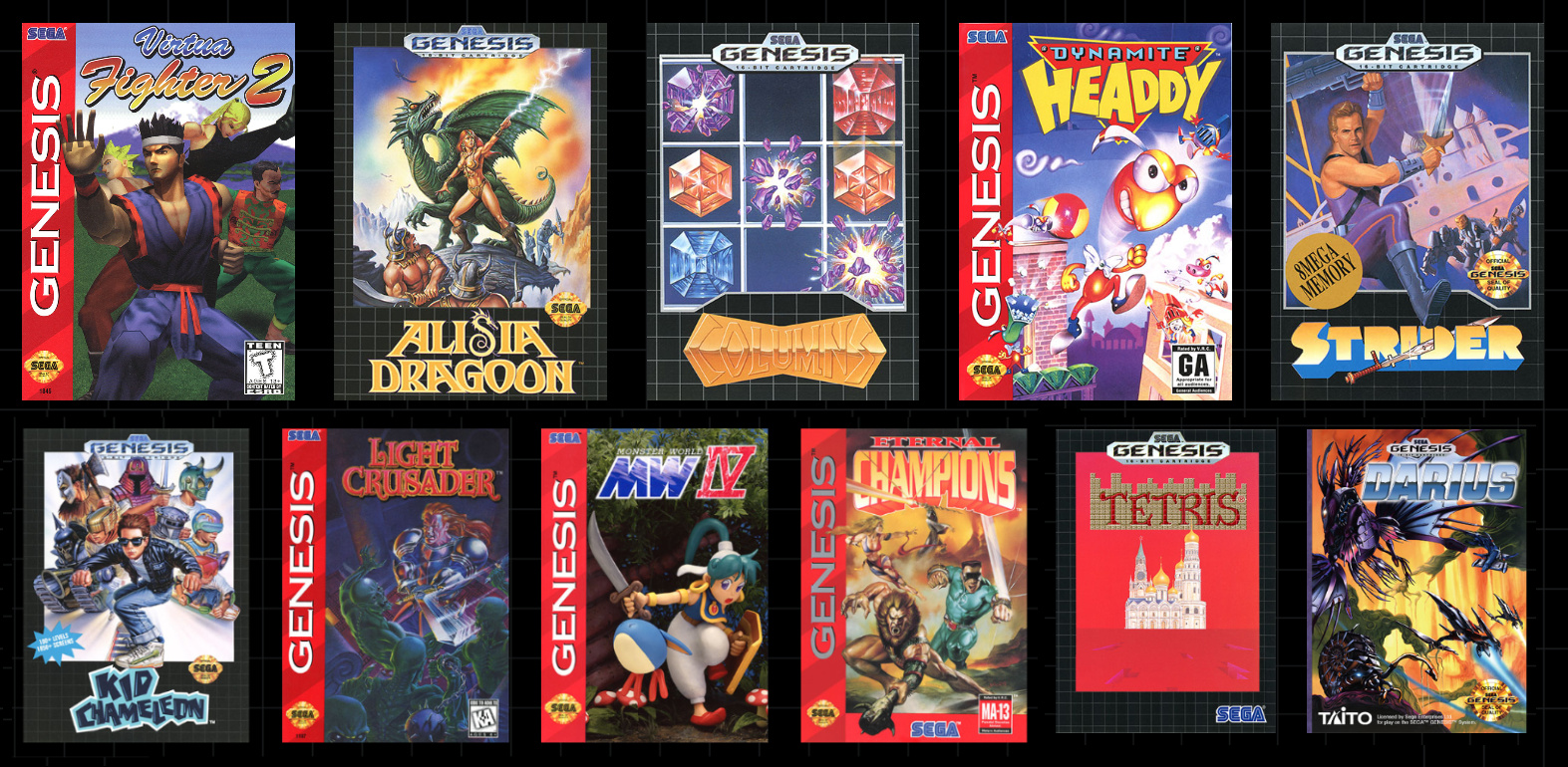Mega Drive Mini Games List: All 42 Titles Revealed